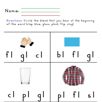 Digraphs, R and L Blends, Magic E Review