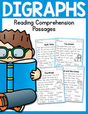 Digraphs Reading Comprehension Passages with Boom Cards Distance Learning