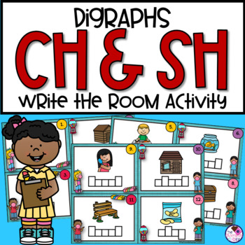 SH, CH Digraph Write the Room