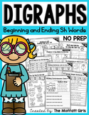 Digraphs (SH Words) NO PREP Packet