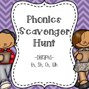 Digraphs Scavenger Hunt
