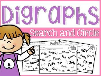 Digraphs Search and Circle