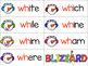 Digraphs (Sh-Th-Ch-Wh): Snowman & Blizzard Theme