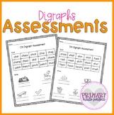 Digraphs Short Vowel Phonics Assessments