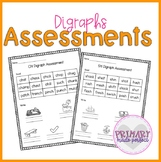 Digraphs Short Vowel Phonics Assessments