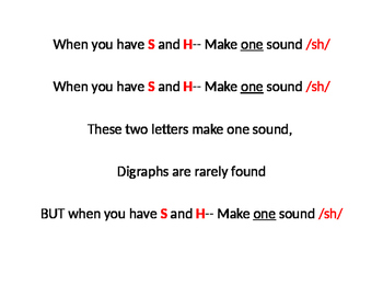 Digraphs Song