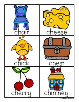 Digraphs Sorting Cards and Activity Sheets ( ch- / sh- / th- / wh- )