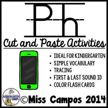 Ph Digraph Worksheets by Miss Campos | Teachers Pay Teachers