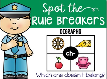 Digraphs - Spot the Rule Breakers