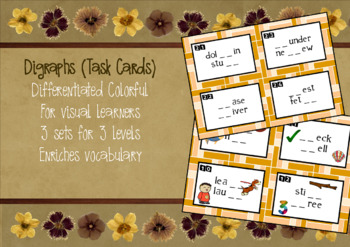 Digraphs - Task Cards