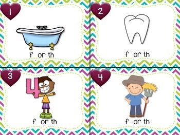 Digraphs Task Cards th or f
