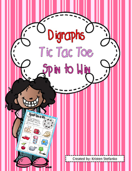 Digraphs Tic-Tac-Toe Spin to Win
