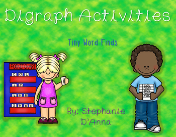 Digraph Tiny Word Finds Freebie