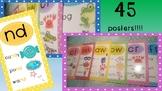Digraphs! Trigraphs! Blends! 45 poster bumper pack!