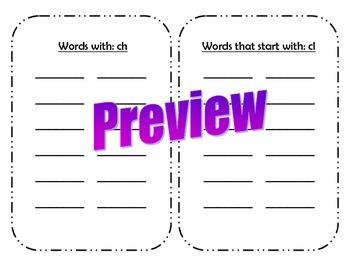 Digraphs, Trigraphs, and Vowel Blends - Find it!