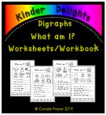 Digraphs What am I? Worksheets Workbook