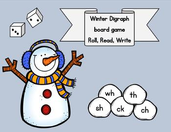 Digraphs Winter game