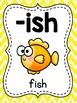 Digraphs Word Families Posters