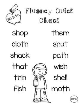 Digraphs Word Lists Freebie
