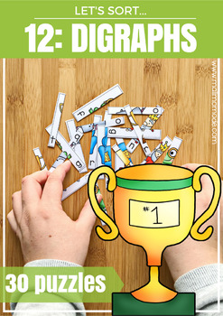 Digraphs Word Puzzles and Spelling Practice