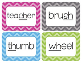 Digraphs Word Wall Cards