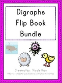 Digraphs Word Work Flip Book Bundle