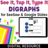 Digraphs Word Work Phonics & Phonemic Awareness | Short Vowels