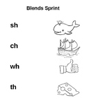 Digraphs Word and Picture Match