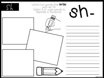 Digraphs * Write & Draw