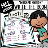 Write the Room Digraphs Activity - FREE