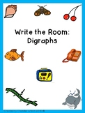 Digraphs Write the Room - FREE SAMPLE IN PREVIEW