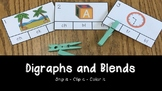 Digraphs and Blends: Clip It Activity