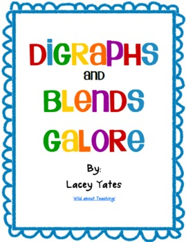 Digraphs and Blends Galore!
