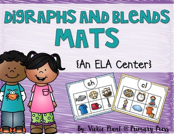 Digraphs and Blends Mats Literacy Center