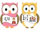 Phonics: Digraphs and Blends Owl Posters
