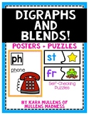 Digraphs and Blends {Posters + Puzzles!}