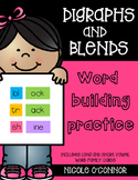 Digraphs and Blends Word Building Practice