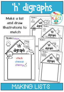 Digraphs for h