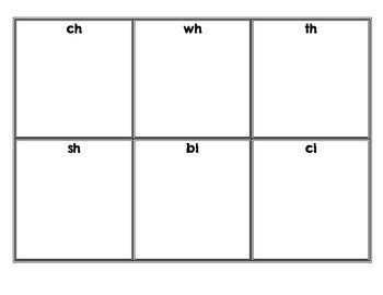Digraphs and Consonant Blends - Detective Find