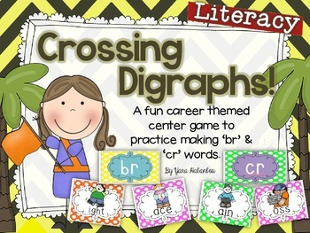 Digraphs 'br' & 'cr' {Crossing Digraphs}