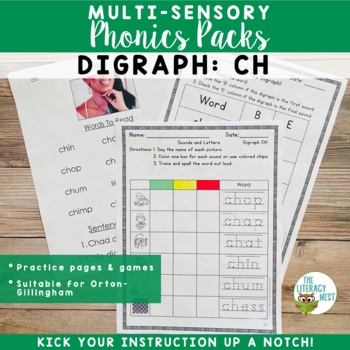 Digraphs {ch}