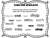 Digraphs ch and sh