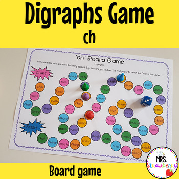 Digraphs: ch Board Game