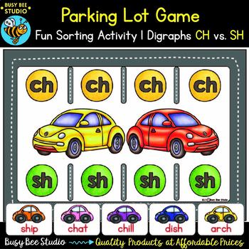 Digraphs ch sh Game