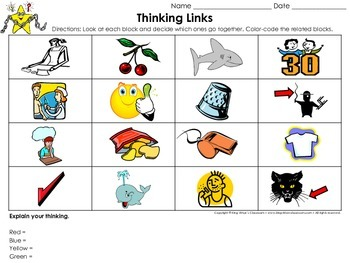 Digraphs: ch, sh, th, wh Thinking Links Activity - King Virtue's Classroom
