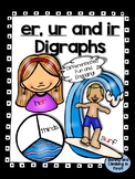 Digraphs er, ir and ur - Word Work