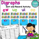 Digraphs ew, ue, ui, oo  Activity