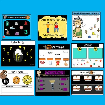 Digraphs for Smartboard: TH