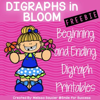 Digraphs in Bloom {FREEBIE}