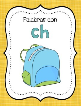 Digraphs in Spanish